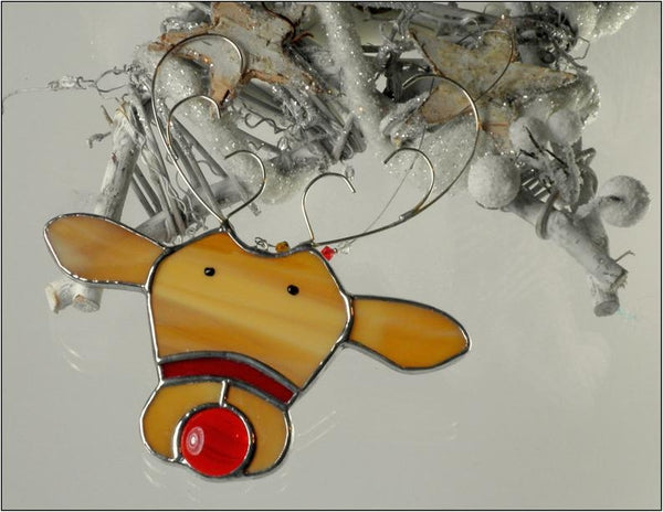 Reindeer - Stained Glass Suncatcher – Ard aLume