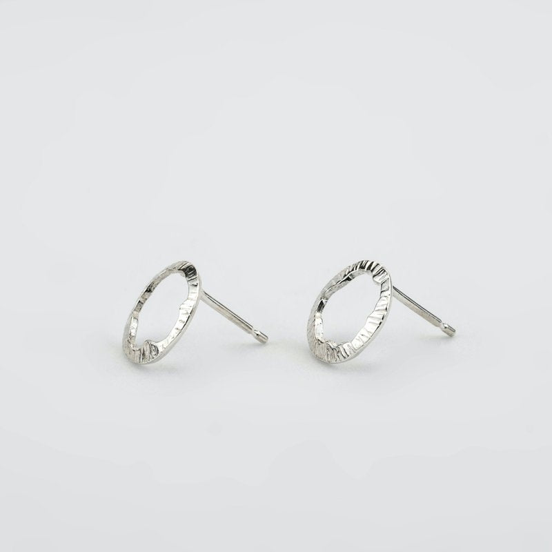 Shell Stud Earrings - Sterling Silver - Martina Hamilton