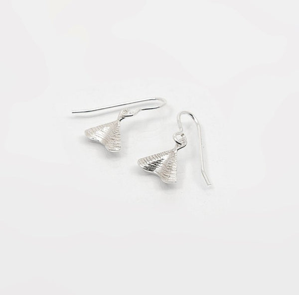 Shore Petite Drop Earrings - Sterling Silver - Martina Hamilton