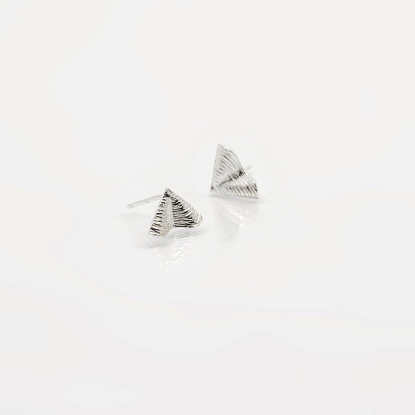 Shore Petite Stud Earrings - Sterling Silver - Martina Hamilton