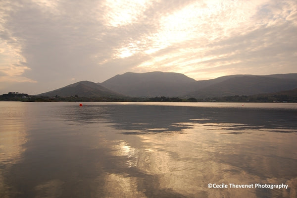 Limited edition Photography - Still Evening, Adrigole Harbour, Beara - Cécile Thévenet