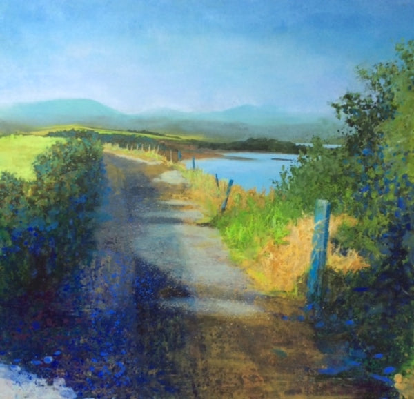 Summer Days, Walking to Cow Strand - Fine Art Giclée Print – Jo Ashby