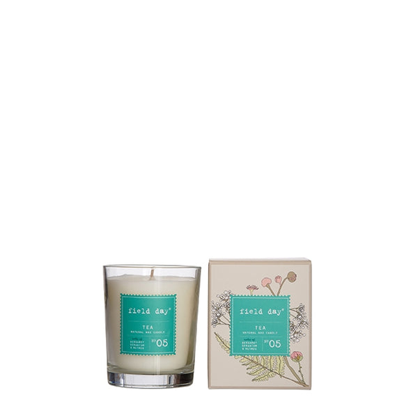 Tea Large Candle – Field Day