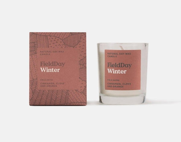 Winter Small Candle + Box – Field Day
