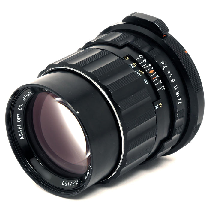 【中古品】PENTAX Super-Multi-Coated Takumar/6X7 1:2.8 150mm SMCタクマーレンズ 150mm/F2.8(ジャンク品)