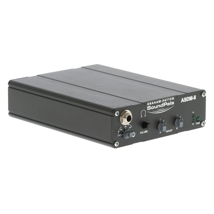 【中古品】GRAHAM-PATTEN ASDM-8 HD/SD-SDI to Analog Audio De-embedder