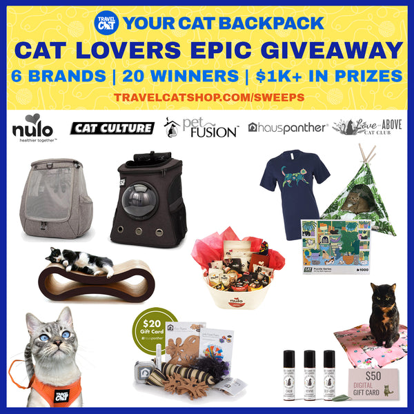 prizes for the Cat Lovers epic Giveaway