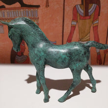 Load image into Gallery viewer, Egyptian collectable bronze horse