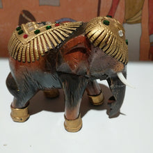 Load image into Gallery viewer, Hand made wooden  Elephent