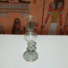 Load image into Gallery viewer, Collectable pyrex glasd candel holder