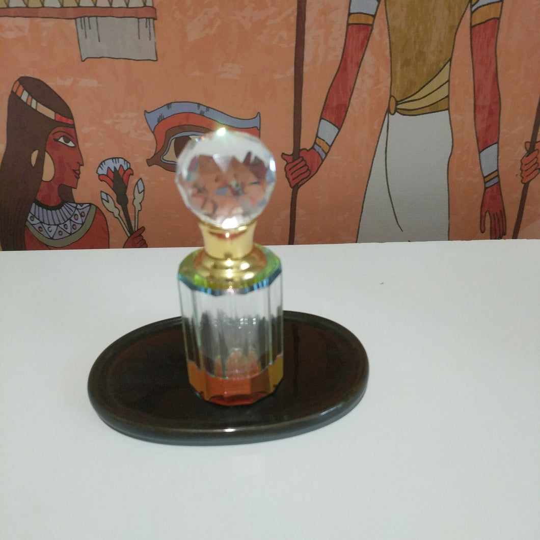 Collectable Crystal oil perfume bottle