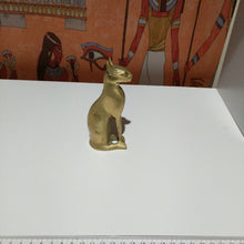 Load image into Gallery viewer, Collectable Egyotian cat Brass