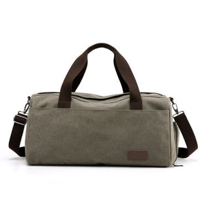 Stylish Outdoor Canvas Sports Gym Bag