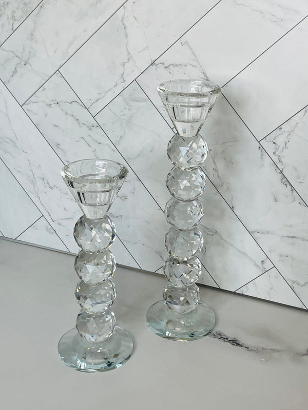 Crystal Bling Candle Holder