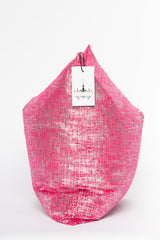 Pink Metallic Pillow