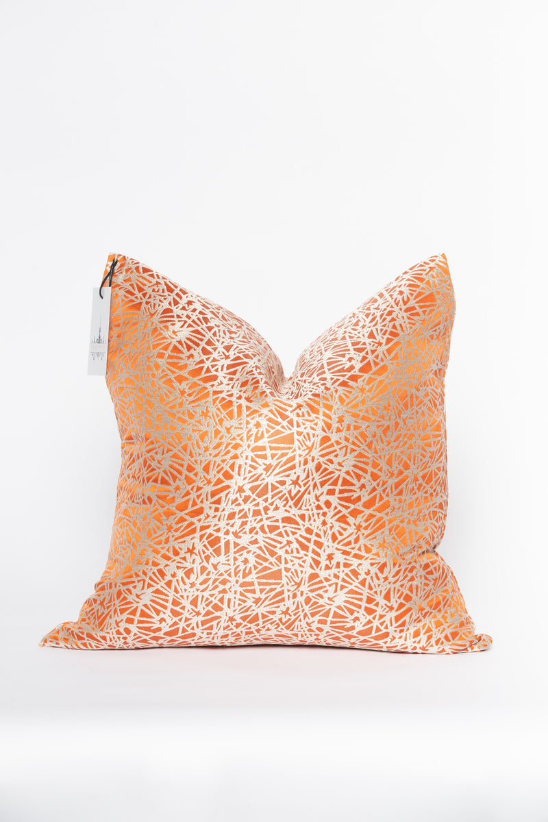 Flame Metallic Pillow