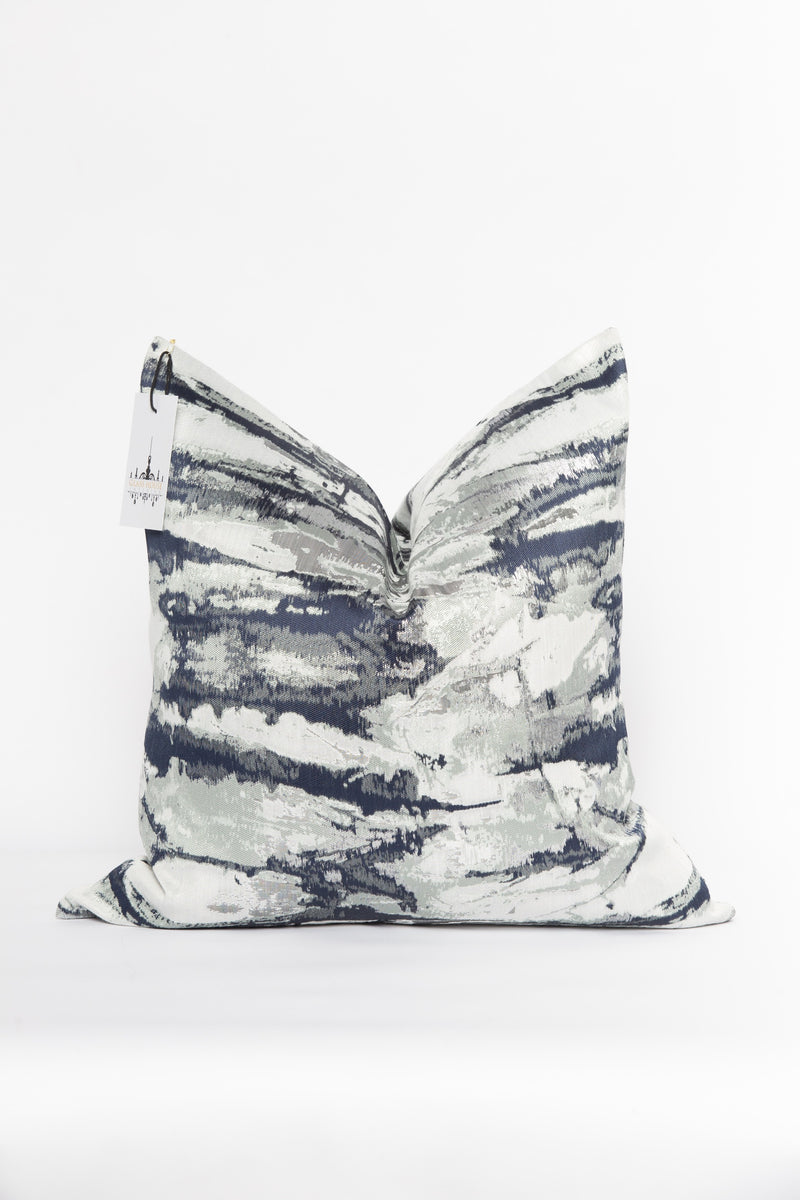 Midnight Metallic Pillow