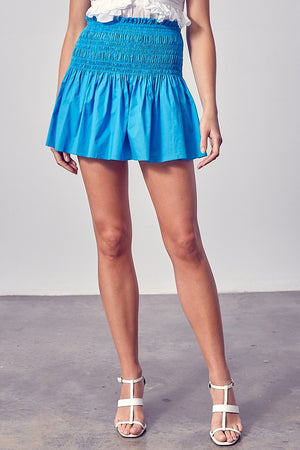 MALDIVES SKIRT IN BLUE