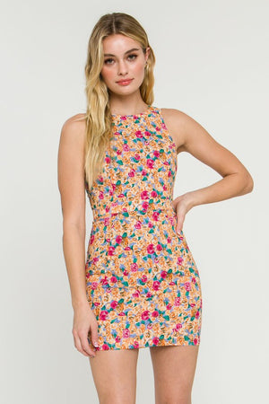 SNYDER FLORAL DRESS