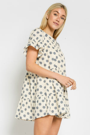 DOTTIE BABYDOLL DRESS