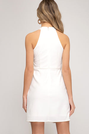 JENNY HALTER DRESS