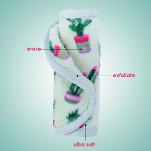 MAKEUP ERASER CACTUS 3 PIECE SET