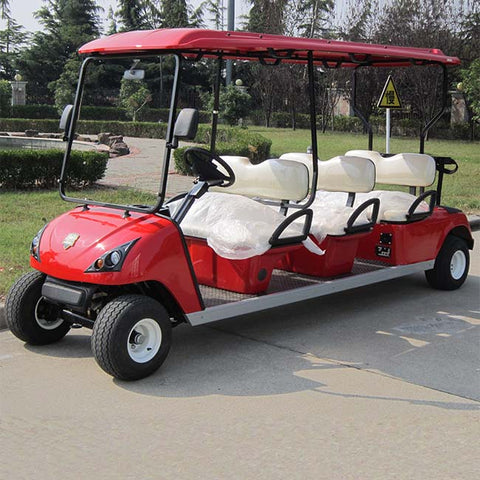 DG-C6-electric-golf-cart-6-passenger-model-in-red-purchase-online-at-thesolpatch-com