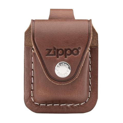ZIPPO BROWN LIGHTER POUCH- LOOP