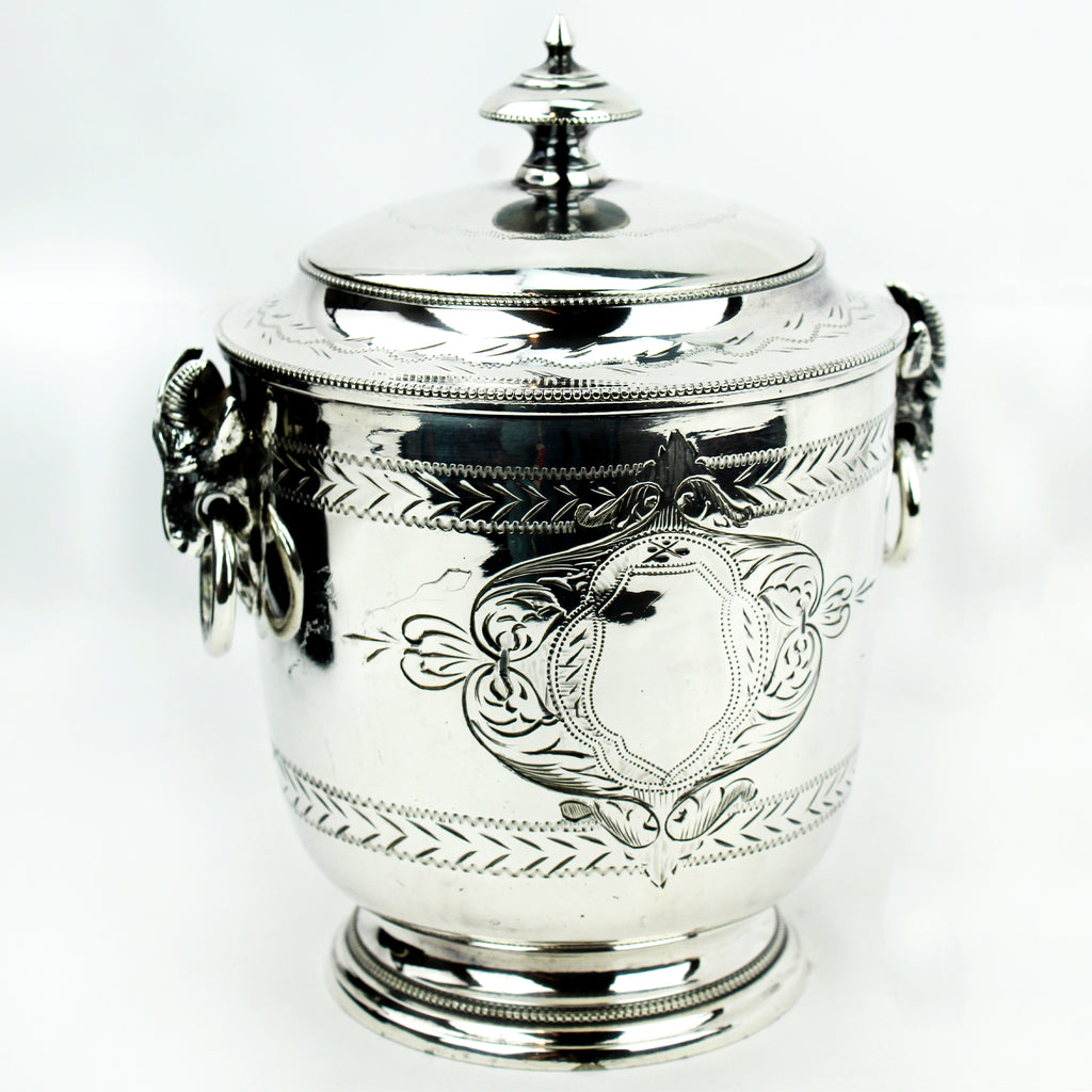 Estate Collection Silverplate - Biscuit Barrel
