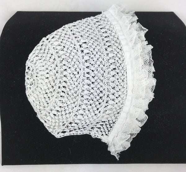Estate Collection Baby Bonnet - Vintage w/Hand Tatting