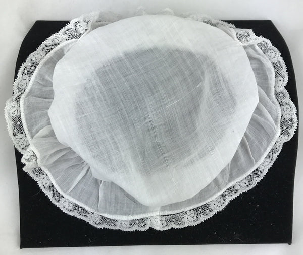 "Estate Collection Baby Bonnet -  ""Lil Miss Muffet"""