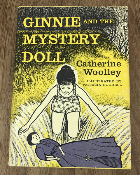 Estate Collection Vintage Books - Ginnie and the Mystery Doll