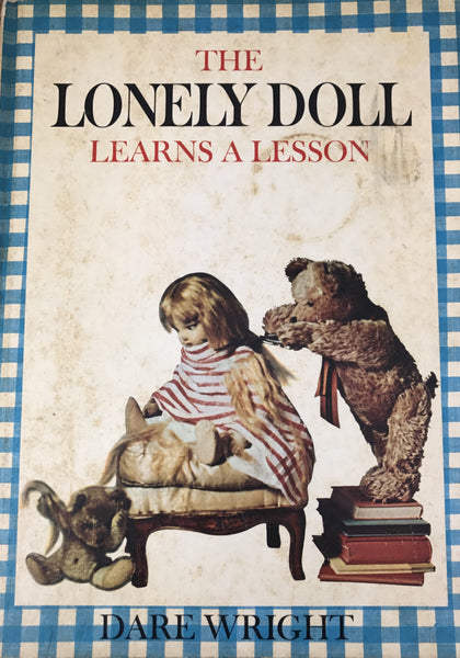 "Estate Collection Vintage Book - ""The Lonely Doll Learns A Lesson"""