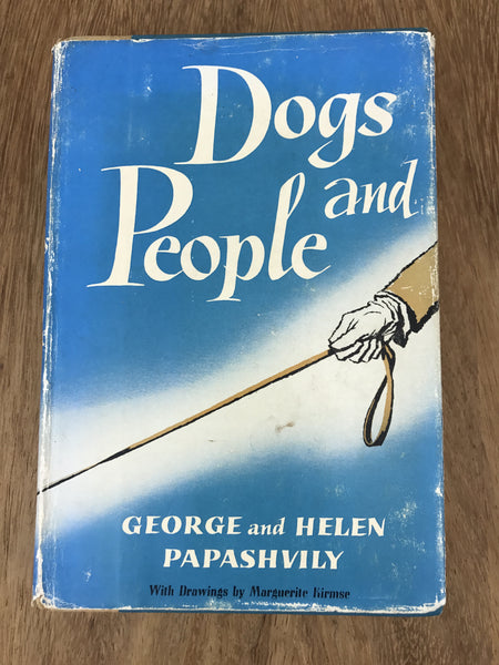"Estate Collection Vintage Book - ""Dogs And People"""
