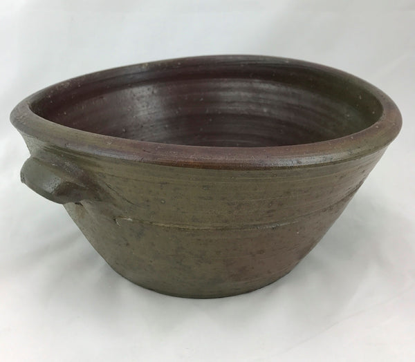 Estate Collection Bowl - Antique Salt Glazed Cake Bowl