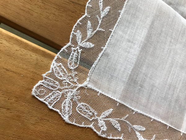 Estate Collection Handkerchief- Linen