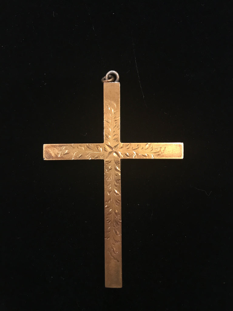 Estate Collection Gold Cross