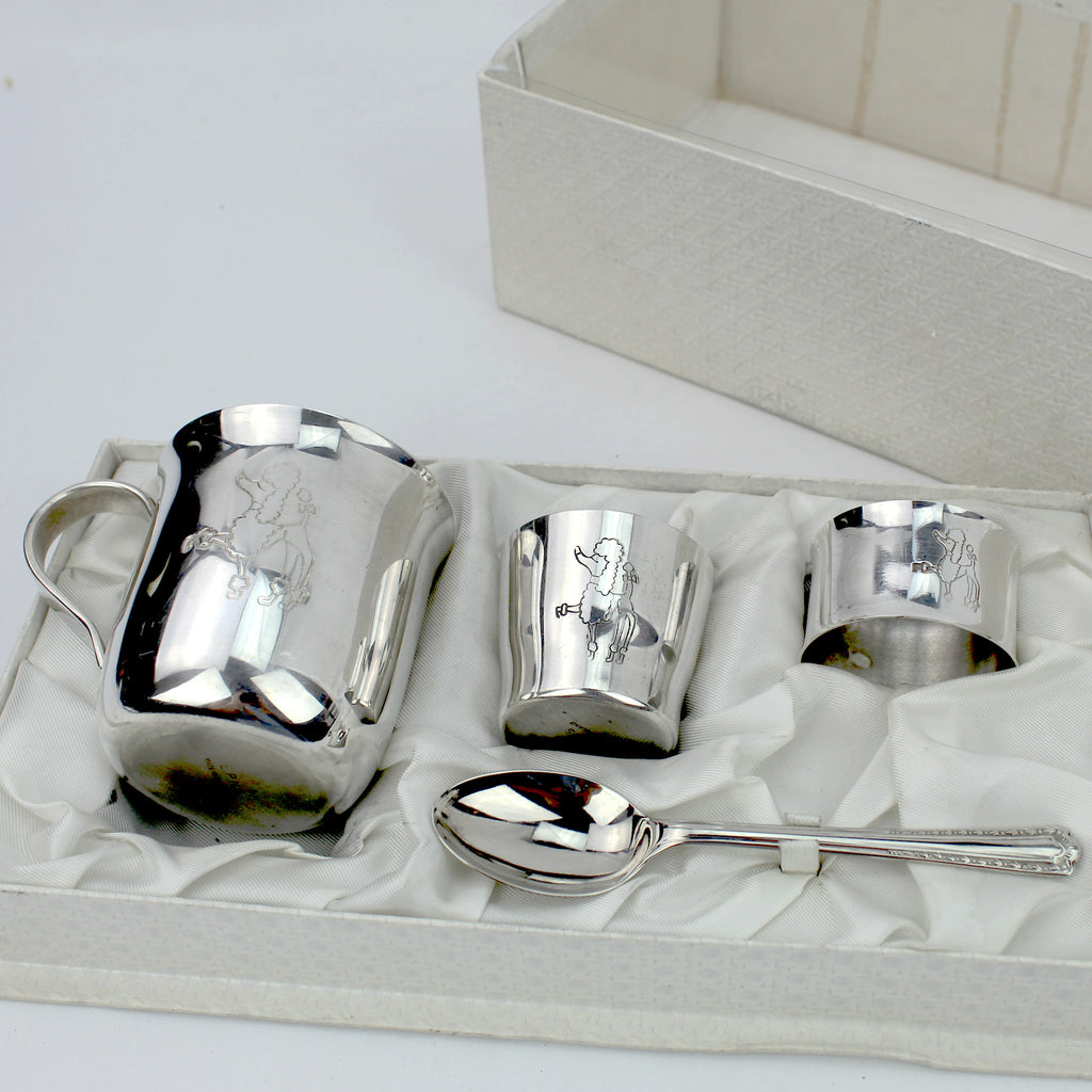 Estate Collection Silverplate - Child's Gift Set