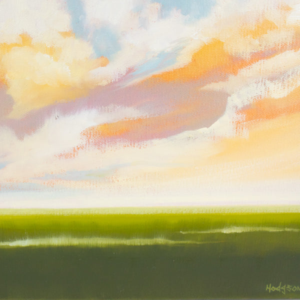"""Delta Clouds Study #3"" by Sandy Hodgson"