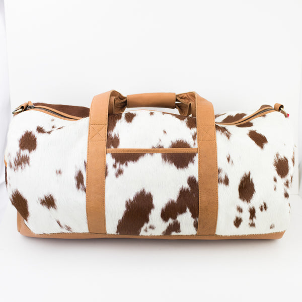 Parker & Hyde Duffle Brown Salt & Pepper
