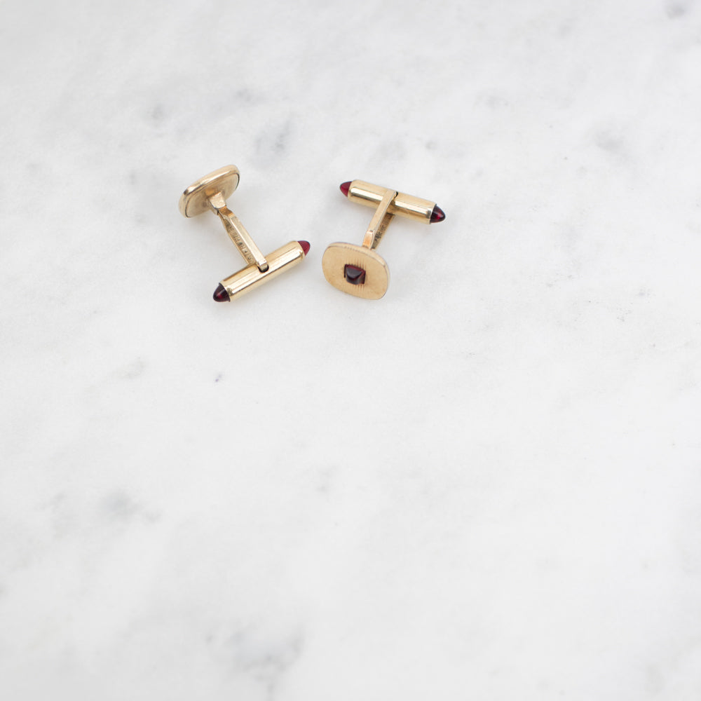 Estate Collection Cufflinks - Vintage Synthetic Spinel