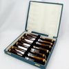 Estate Collection Silverplate - Horn Fork & Knife Set