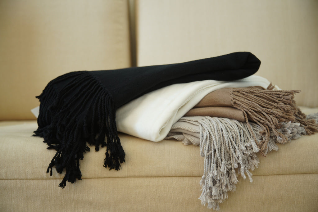 Throw - Luxxe Fringe Throw
