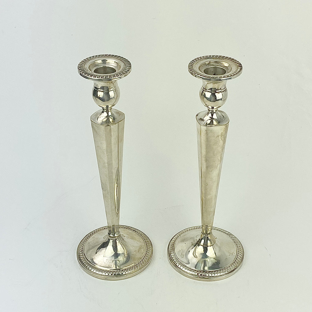 Estate Collection - Sterling Weighted Candlesticks