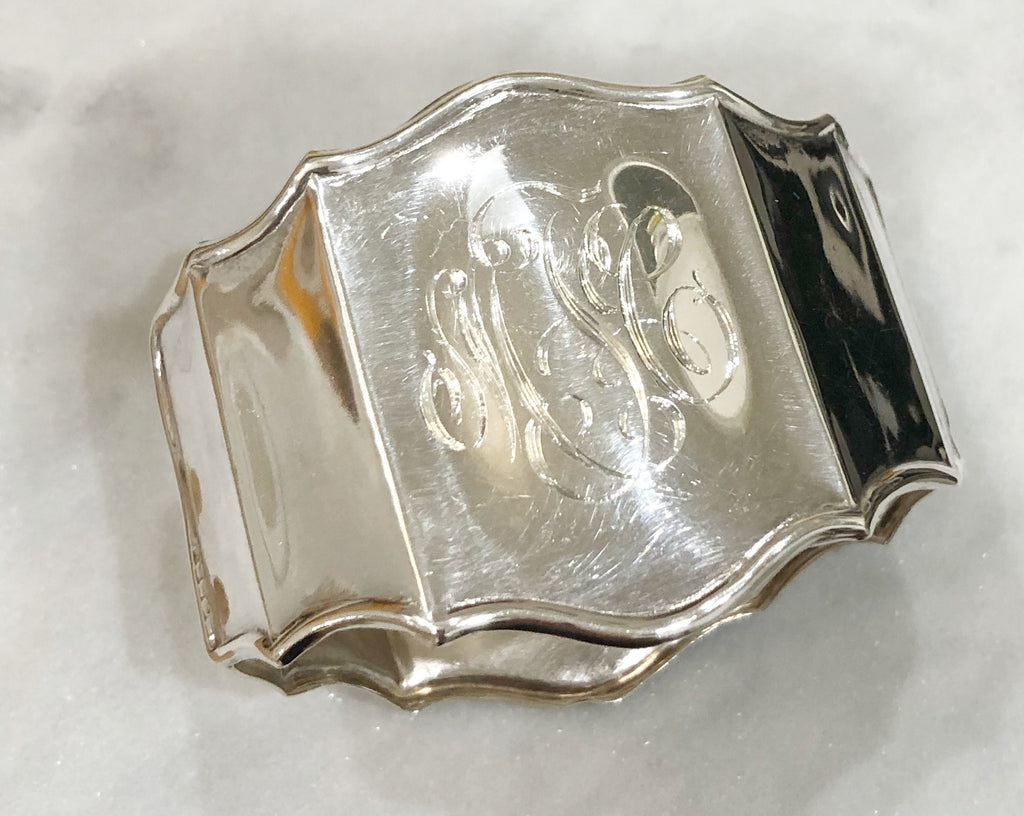 Estate Collection Silverplate - Napkin Ring