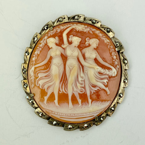Estate Collection - Pendant Featuring The Three Graces
