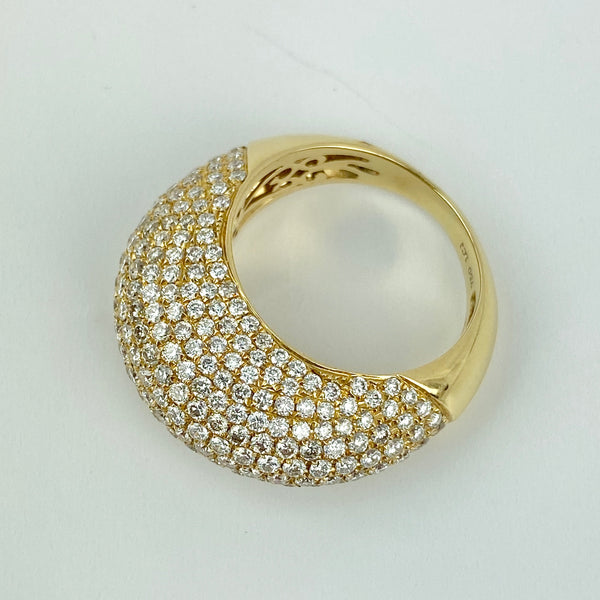 Estate Collection - Ring Vintage 18K Yellow Gold & Diamond