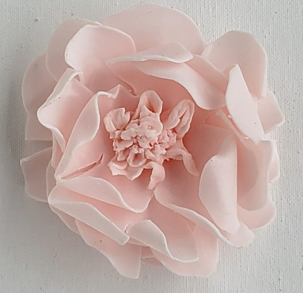 Handmade Petal Soap Flowers - Sweet Blush Garden Rose