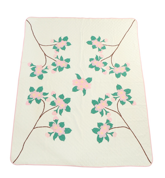 Estate Collection Quilt - Floral Accent
