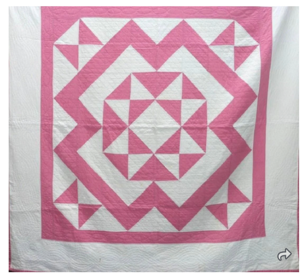 Estate Collection Quilt - Hour Glass Pattern